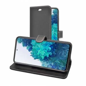Samsung (Black) Case For Samsung Galaxy S20 FE Fan Edition Wallet Flip PU Leather Stand