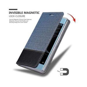 Cadorabo (DARK BLUE BLACK) Cadorabo Case for Sony Xperia XA1 PLUS case cover