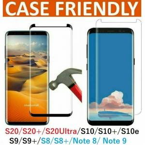Unbranded (For Samsung S20 , BLACK) Tempered Glass Screen Protector