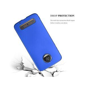 Cadorabo (METALLIC BLUE) Cadorabo Case for Motorola MOTO Z2 case cover
