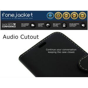 FONEJACKET (BLACK) For Motorola Moto G9 Play Phone Case, Cover, Flip, Wallet, Folio, Leathe