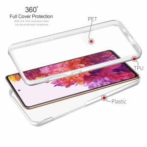 Samsung Case For Samsung Galaxy S20 FE 5G Fan Edition Full 360 Protection Transparent Co