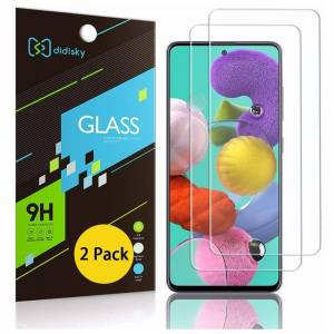 Didisky Tempered Glass Screen Protectors for Samsung Galaxy a51/ A51 5G / S20 FE