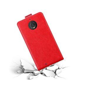 Cadorabo (APPLE RED) Cadorabo Case for Motorola MOTO G6 case cover