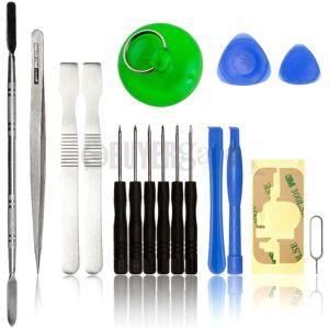 ACENIX 17 Pcs Repair Tool kit for Apple iPhone iPad iPod PSP NDS HTC Mobile Phones