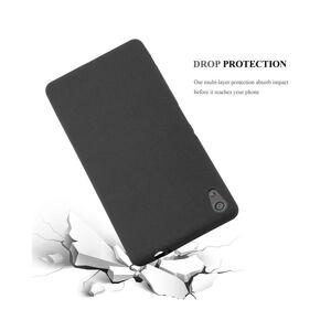 Cadorabo (FROST BLACK) Cadorabo Case for Sony Xperia XA ULTRA case cover