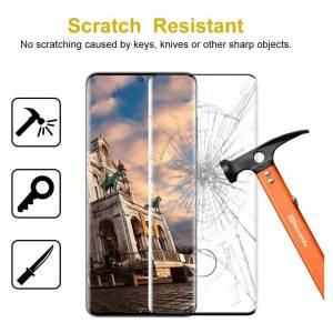 Brand: SNUNGPHIR SNUNGPHIR Samsung Galaxy S20 Plus Screen Protector, 2 Pack 3D Curved Tempered Gl