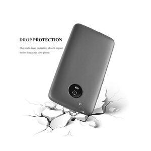 Cadorabo (METALLIC GREY) Cadorabo Case for Motorola MOTO G5 case cover