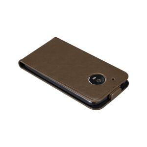Cadorabo (COFFEE BROWN) Cadorabo Case for Motorola MOTO G5 case cover