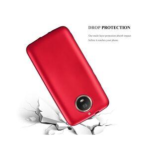 Cadorabo (METALLIC RED) Cadorabo Case for Motorola MOTO G5S case cover