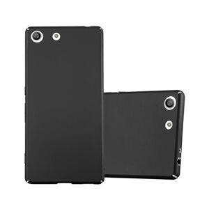 Cadorabo (METAL BLACK) Cadorabo Hard Case for Sony Xperia M5 case cover
