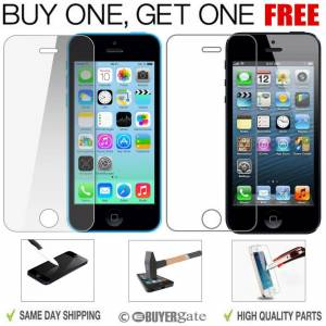 ACENIX GENUINE TEMPERED GLASS FILM SCREEN PROTECTOR FOR APPLE IPHONE 5S 5C 5 SE