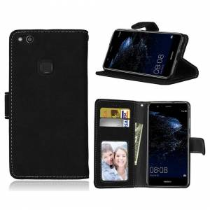 FONEJACKET For Sony Xperia L1 Phone Case, Cover, Wallet, Slots, PU Leather / Gel – Black