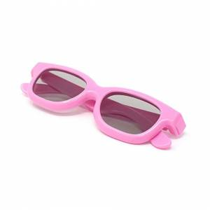 UltraByEasyPeasyStore (2) Ultra 1 to 5 Pairs of Pink Childrens Passive 3D Glasses for Kids Polorized E