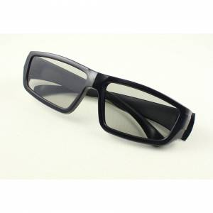 UltraByEasyPeasyStore (2) Ultra 1 to 5 Pairs of Black Adults Passive 3D Glasses For Men Women Polorize