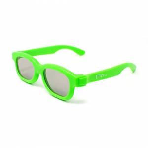 UltraByEasyPeasyStore (3) Ultra 1 to 5 Pairs of Light Green Childrens Passive 3D Glasses for Kids Polo