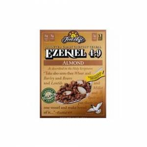 Food for Life Ezekiel Sprouted Whole Grain Cereal Almond 454g