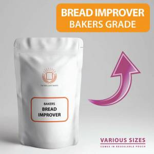 The Brilliant Baker (1kg) Bread IMPROVER for Bakers - Flour & Dough IMPROVER Perfect for Home Baking