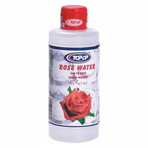 Topop Pure Rose Petals Water for Cooking/Beauty / Skin/Face / Food Flavor Essence 200m