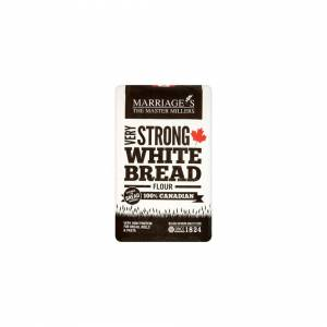WH MARRIAGE AND SONS LTD Marriages  100% Canadian White Flour - Very Strong 1.5kg x 5