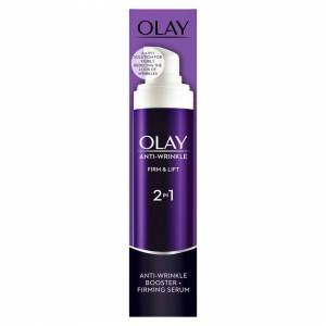 Olay Anti Wrinkle Firm and Lift 2-in-1 Day Cream and Firming Serum, 50 ml