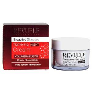 Revuele Bioactive Skincare Tightening Night Cream Collagen & Elastin Face Contou