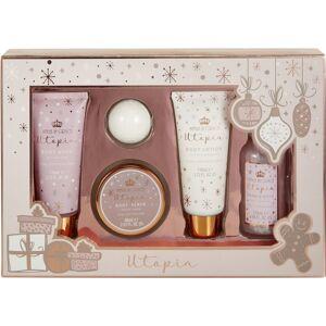 Style & Grace Utopia Pamper Me Gorgeous Gift Set - 110ml Body Wash, 110ml Body L