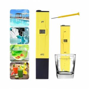 Unbranded PH Meter LCD Digital Electric Tester Pen Hydroponics Water Test Tool Kit Aquariu