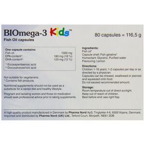 Pharma-Nord Pharma Nord Omega 3 Kids Bio-Marine Kind 80 Capsules