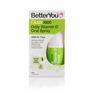 Better You BetterYou DLux 3000 - Vitamin D Oral Spray - 15ml