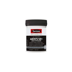 Swisse Ultivite Men's 50 Plus Daily Multivitamin Tablet   Energy & Immunity Supp