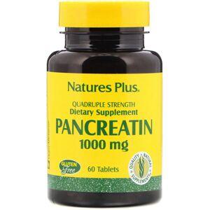 Natures Plus Nature's Plus Pancreatin 1000 mg 60's