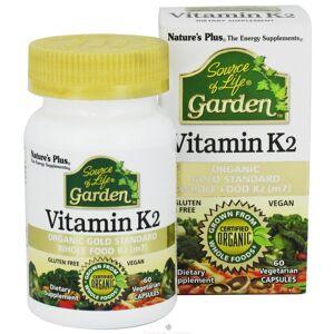 Nature's-Plus Nature's Plus Source of Life Garden Vitamin K2, 60 Vegetarian Capsules