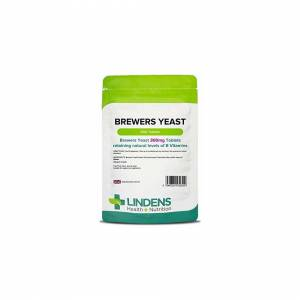 Lindens Brewers Yeast 300mg Tablets   500 Pack   Natural source of vitamins & mi