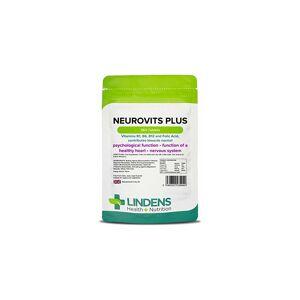 Lindens Neurovits Plus Tablets   360 Pack   Contains Vitamin B1, B6, B12 & Folic