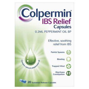 Colpermin IBS Relief 0.2ml Peppermint Oil BP 20 Capsules