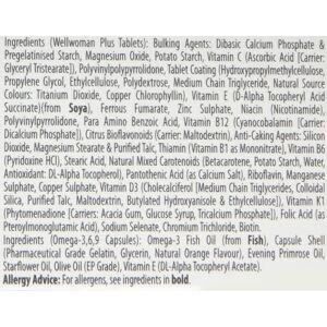 Wellwoman Vitabiotics Wellwoman Plus Omega 3∙6∙9-56 Tablets/Capsules