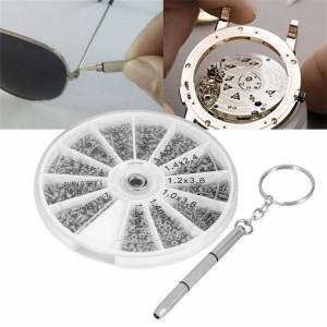 Ranpo 600Pcs Precision Screwdriver Kit Tiny Screw Tool For Small Eye Glasses Repair