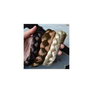 Unbranded 2.5cm wide New Arrival freeshipping fashion bohemian wigs braid thick wide headb
