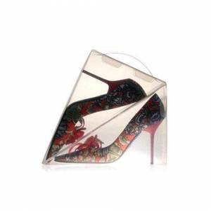 The Home Fusion Company 8 x Ladies Shoe Box Storage Display Shoe Organiser Dividers Transparent Plastic