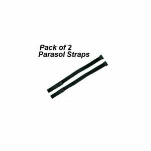 Unbranded Pack of 2 Securing Straps For Parasol