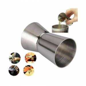 Unbranded Stainless Steel Jigger Double Single Shot Drink Spirit Measure Cups Cocktail