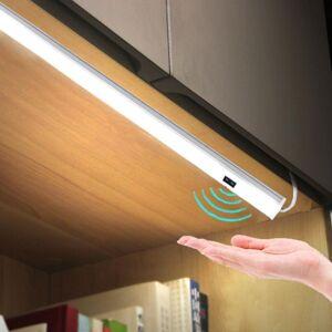 Slowmoose (50cm With Power / White) Control Kitchen Lights LED Bar Light Closet Wardrobe B