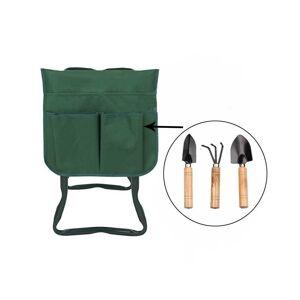 Slowmoose (Pouch and Tool) Garden Kneeler Tool Bag Garden Storage Bag Portable Pouch Toolk