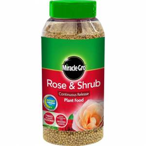 Miracle-Gro Continuous Release Plant Food Shaker Jar 1kg - Rose & Shrub