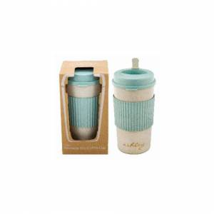 Unbranded 450ml Reusable Eco Friendly Travel Coffee Tea Drinking Cup Mug With Stirrer