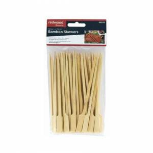 Unbranded Bamboo Skewers 50 Pack 15cm For BBQ Grill Kebabs Koftas Satay