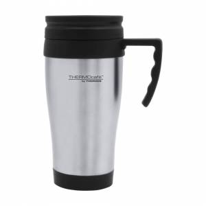 Thermos 400ml Stainless Steel ThermoCafe Double Walled Hot And Cold Travel Mug