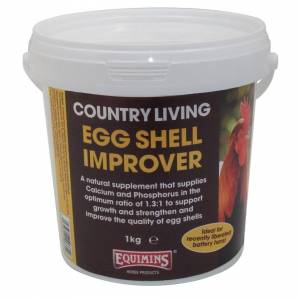 Equimins Limited EQUIMINS COUNTRY LIVING EGG SHELL IMPROVER - 1kg