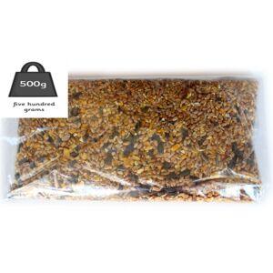 Giftsbynet (500g) Wild Bird seed Mixed Bird Feeder Refill Packs